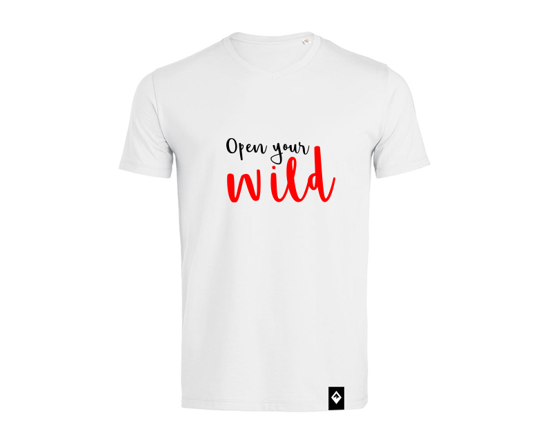 T-Shirt OPEN YOUR WILD